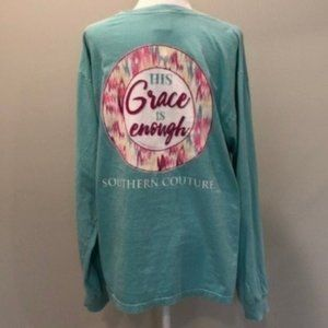 Southern Couture Comfort Colors Long Sleeve Large